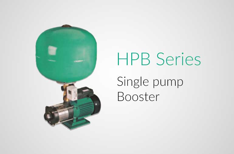 Hindustan Single Pump Booster Hindustan Pumps